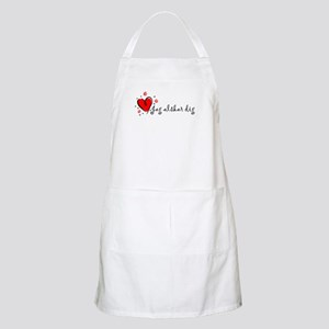 """I Love You"" [Swedish] BBQ Apron"